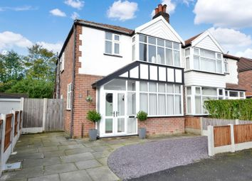 Thumbnail 3 bed semi-detached house for sale in Saddlewood Avenue, Didsbury, Manchester