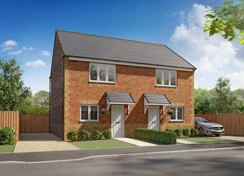 "Thumbnail 2 bedroom semi-detached house for sale in ""Boston"" at Grange Road, Widdrington, Morpeth"