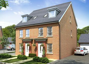 "Thumbnail 4 bed semi-detached house for sale in ""Rochester"" at Lantern Lane, East Leake, Loughborough"