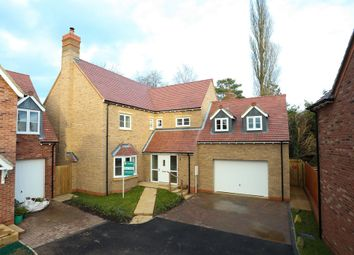 Thumbnail 4 bedroom detached house for sale in Mill Lane, Westbury, Brackley