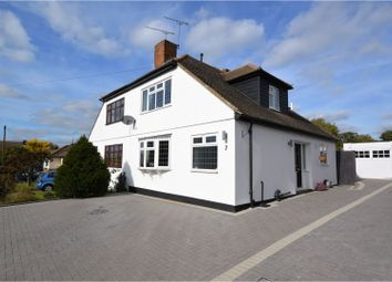 Thumbnail 3 bed semi-detached house for sale in Romney Road, Billericay