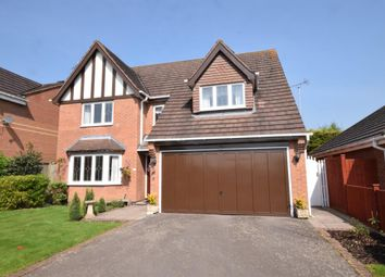 Thumbnail 4 bed detached house for sale in Copt Oak Road, Narborough, Leicester