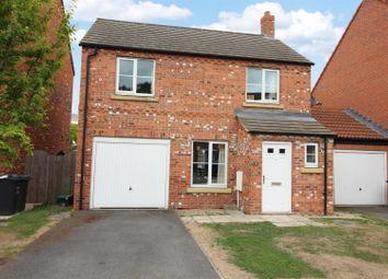 Thumbnail 3 bed detached house for sale in Moorland Way, Sherburn In Elmet, Leeds