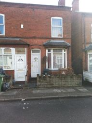Thumbnail 2 bed end terrace house to rent in Dora Street, Walsall, West Midlands