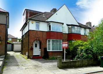 Thumbnail 4 bed semi-detached house for sale in Court Way, Colindale