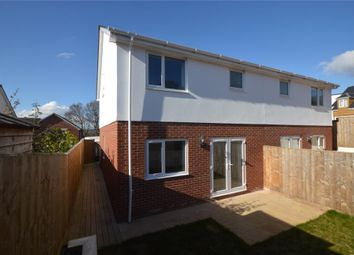 Thumbnail 3 bed semi-detached house for sale in Victoria Gardens, Exeter Road, Exmouth, Devon