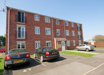 Thumbnail 2 bed flat for sale in Heather Gardens, Richmond Lakes, North Hykeham