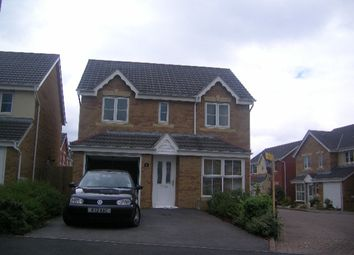 Thumbnail 4 bed detached house to rent in Llys Ael Y Bryn, Birchgrove