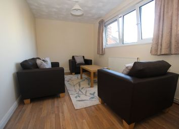Thumbnail 4 bed flat to rent in St. James's Road, Southsea