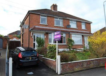 Thumbnail 3 bed semi-detached house for sale in Westway Park, Belfast