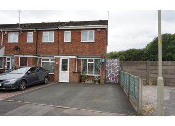 Thumbnail 2 bedroom end terrace house for sale in Chichester Avenue, Dudley