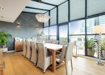 Thumbnail 4 bed flat for sale in York Road, London