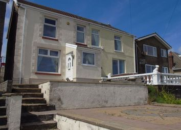 Thumbnail 3 bed semi-detached house for sale in Trewyddfa Road, Morriston, Swansea