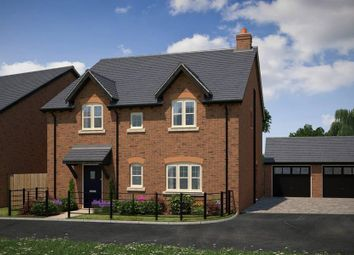 "Thumbnail 4 bedroom detached house for sale in ""The Hadleigh"" at Lutterworth Road, Churchover, Rugby"