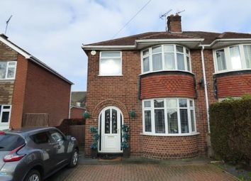 Thumbnail 3 bed semi-detached house for sale in Southwell Road East, Rainworth, Mansfield, Nottinghamshire