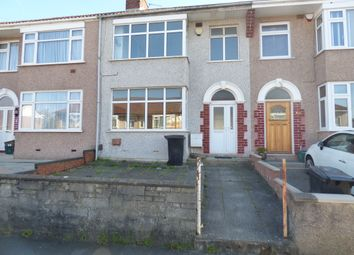 Thumbnail 3 bedroom terraced house to rent in Savoy Road, Bristol
