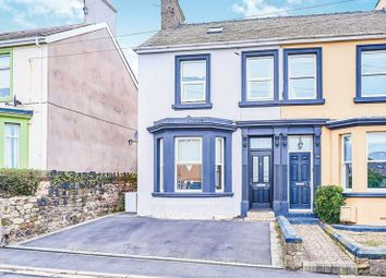 Thumbnail 3 bed semi-detached house for sale in High Road, Whitehaven, Cumbria