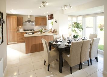 "Thumbnail 4 bedroom detached house for sale in ""Bradbury"" at Yafforth Road, Northallerton"