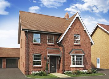 "Thumbnail 4 bed detached house for sale in ""Holden"" at Alwin Court, Great Denham, Bedford"