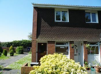 Thumbnail 2 bed maisonette to rent in Henderson Close, Trowbridge, Wiltshire