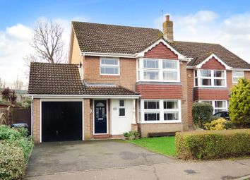 Thumbnail 4 bed detached house for sale in Finches Close, Wick, Littlehampton