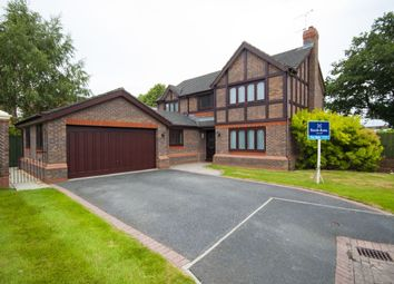 Thumbnail 4 bed detached house for sale in Brunner Grove, Nantwich