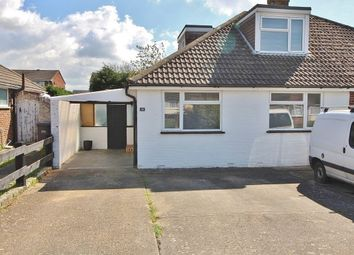 Thumbnail 3 bed semi-detached bungalow for sale in Buckland Close, Waterlooville