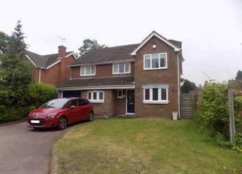 Thumbnail 5 bed detached house to rent in Woodgate, Fleet, Hampshire