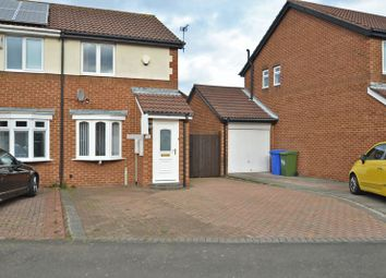 Thumbnail 2 bed semi-detached house for sale in Linden Road, Seaton Delaval, Whitley Bay
