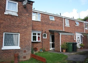 Thumbnail 3 bed terraced house to rent in Northleach Close, Church Hill N, Redditch
