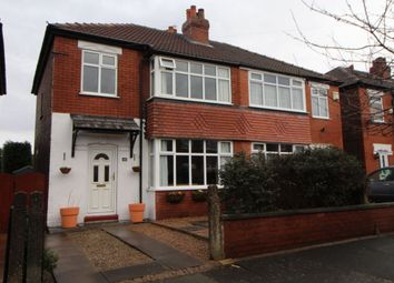 Thumbnail 3 bed semi-detached house for sale in Ilkley Crescent, Reddish, Stockport