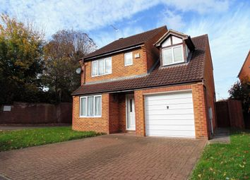 Thumbnail 4 bed detached house to rent in Chamberlain Way, Raunds, Wellingborough