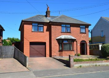 Thumbnail 4 bed detached house for sale in Church Lane, Walton, Felixstowe, Suffolk