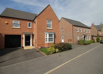 Thumbnail 4 bed detached house for sale in Slatewalk Way, Glenfield, Leicester