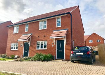 Thumbnail 2 bed semi-detached house for sale in Hawthorn Gardens, Didcot