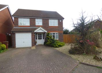 Thumbnail 4 bed detached house to rent in Stroykins Close, Grimsby