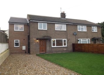 Thumbnail 3 bed semi-detached house to rent in St. Johns Close, Bishop Monkton, Harrogate