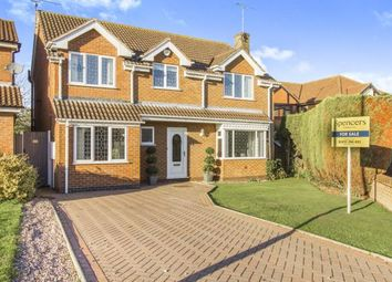 Thumbnail 4 bed detached house for sale in School Crescent, Broughton Astley, Leicester, Leicestershire