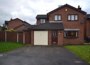 Thumbnail 4 bed detached house for sale in Raleigh Close, Old Hall, Warrington