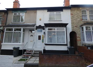Thumbnail 2 bed terraced house to rent in Geraldine Road, Yardley, Birmingham