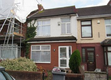 Thumbnail 4 bed terraced house to rent in Third Avenue, Northville, Bristol