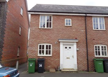 Thumbnail 2 bed end terrace house for sale in Tudor Rose Way, Harleston