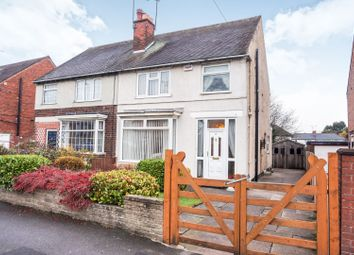 Thumbnail 3 bed semi-detached house for sale in Chellaston Road, Derby