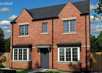 Thumbnail 3 bedroom detached house for sale in Burton Road Tutbury, Staffordshire