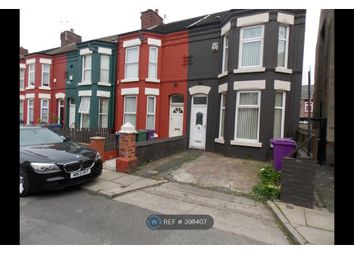 Thumbnail 4 bed terraced house to rent in Windsor Road, Liverpool