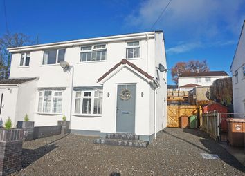 Thumbnail 2 bed semi-detached house for sale in Penybont, Penpedairheol, Hengoed