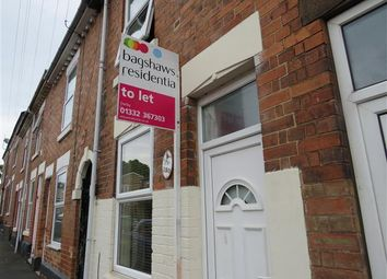 Thumbnail 2 bedroom property to rent in Cobden Street, Derby
