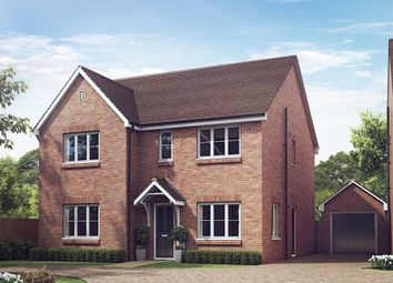 "Thumbnail 5 bed detached house for sale in ""The Marylebone "" at Lionheart Avenue, Bishops Tachbrook, Leamington Spa"