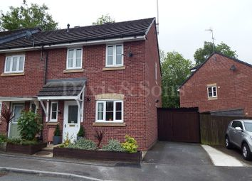 Thumbnail 3 bed end terrace house for sale in Acer Way, Rogerstone, Newport, Gwent.