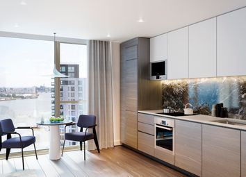 Thumbnail 2 bed flat for sale in The Lighterman, Greenwich Peninsula, London SE10, London,